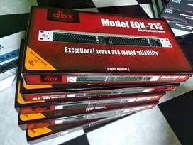equalizer dbx 215 plus subwoofer