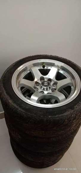 Rayseng Volkracing 13 Inch Alloy With Nangkeng Tyre