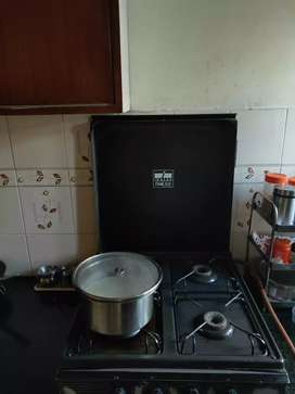Gas stove 3 burners with 1 induction plate INALSA