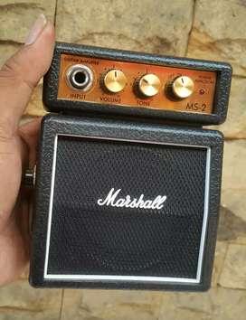 Ampli Gitar Mini Marshall MS-2 like new