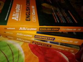 12th Guide Book, All in one-physics, chemistry and English core2019-20