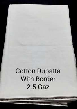 Lawn Dupatta With Border