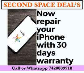 All iphone Repair with 30 days repair warranty