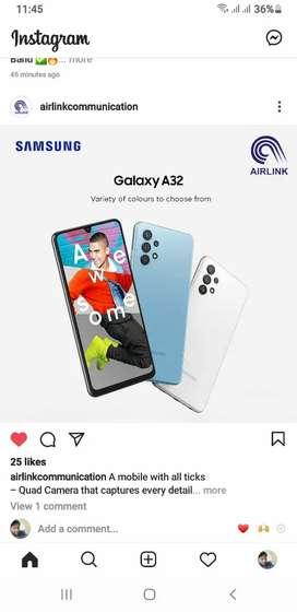 Samsung A32 6/128 New Box Pack