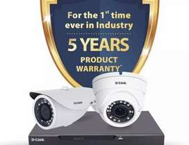 D-Link cctv camera combo pack available
