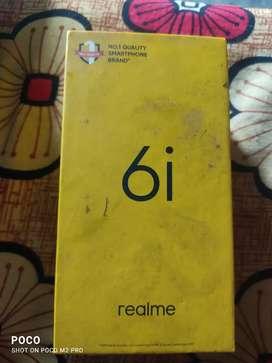 Realme 6i black colour Rs. 8500