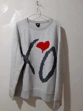 H&M x The Weeknd XO Crewneck