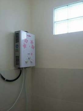 Water Heater Gas ~ Mandi Air Hangat Sip