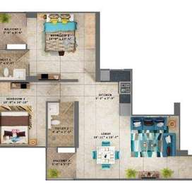 2BHK flat with all amenities like pool, subsidy of 2.67 lac.Near metro