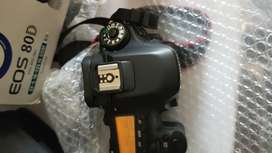 80d with lens 18-55lens