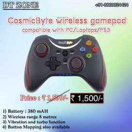 Cosmicbyte wireless controller new sealed for PC/Laptops/PS3