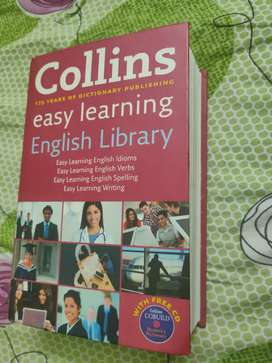 Collins easy learning English library(almost brand new)
