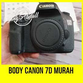 Body Only Canon 7D Fullbox