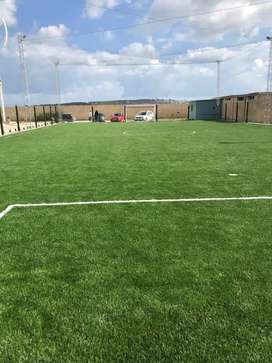 Artificial grass astro turf for garden feel relax