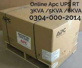 APC Smart UPS 3KVA/5KVA/6KVA BOX PACKED & USED