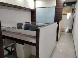 Furnished office on rent in vashi Real Tech Park building