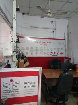 This is 1150 sqft semifurnishd office avilable  for rent in gms road