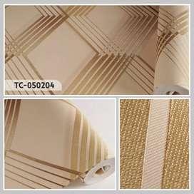 Jual Wallpaper Dinding Bahan Vinyl Awet Desain Elegant