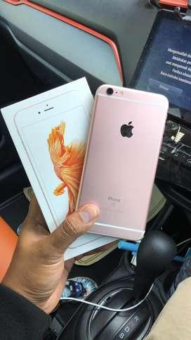 iphone 6s plus 32gb rose gold resmi ibox full set original msh grnsi