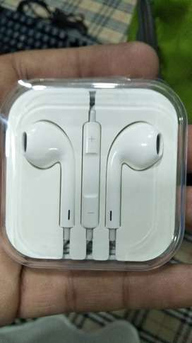 IPhone 3.5mm round Jack Handsfree for android too
