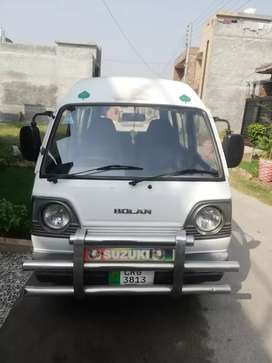 Suzuki Bolan totally jiven first hand bumper to bumper new tires cng