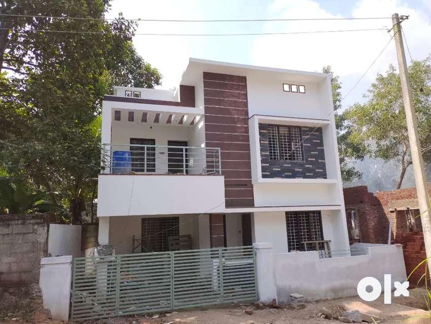 1600sqft New House Sreekariyam junction 2km distance 0