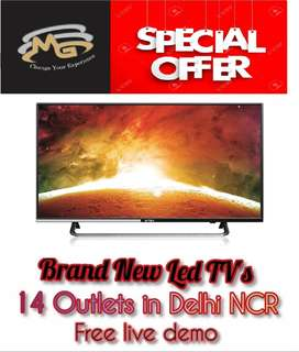 """""""Deals of the day"""" 40 inch Smart LED TV with latest OS"""