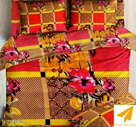 Branded  Double Bedsheet available at free COD with 7 days easy return