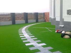 Astro turf or artificial grass, synthetic grass