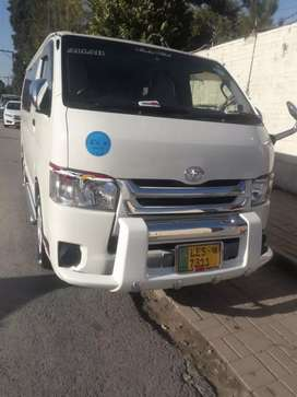 TOYOTA HIACE BOXA FOR tour BOOKING available PAKISTAN all area