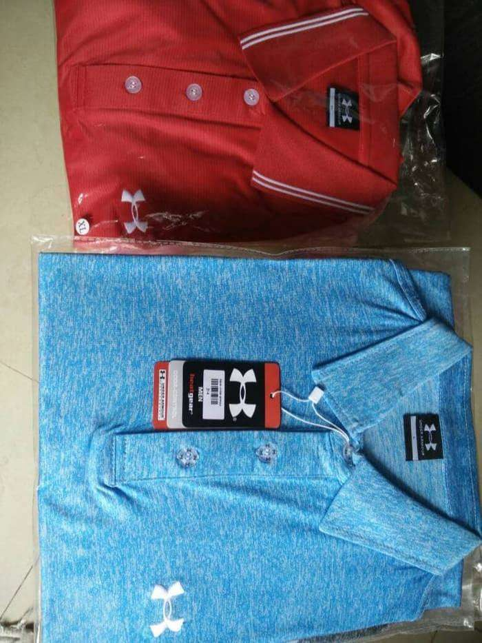 Golf T-Shirt Polo Brand Under Armour Premium 0