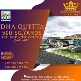 DHA Quetta Authorize Dealer Affidavit File at Cheapest Rate