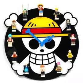 Jam Dinding Akrilik Model One Piece