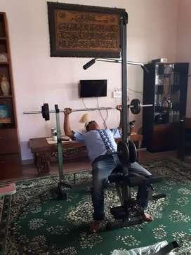 Bench press,power squat,body slimmer,bisa cod langsung id 76