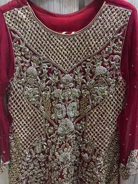heavy bridal lehnga