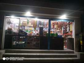 Kiran shop for sale with fully furnished. 15000 daily counter