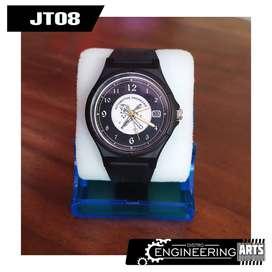 Jam Tangan Mirete Motif Automotive Engineering & Wadah Jam [JT08]