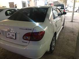 Toyota altis one of its kind