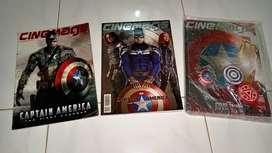Jual / Sale Majalah Cinemags Edisi² Captain America