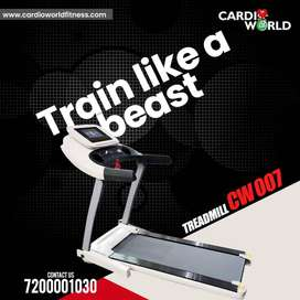 New year Special Offer on TV Model Treadmill  with 1 year warranty