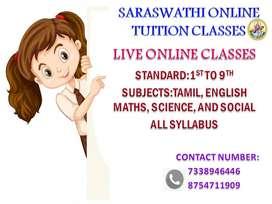 Saraswathi online tuition classess