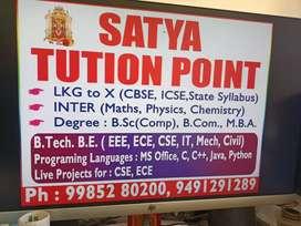 Satya tution point