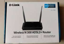 D LINK WIFI ROUTER ADSL2+
