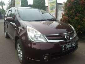 Nissan g livina XV A/t 2011 komplit