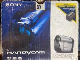 Sony handy cam DCR DVD 608e