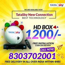 BUMPER SALE ON TATA SKY HD CONNECTION