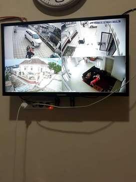 Paket CCTV HIKVISION 4 Channel 2 MP