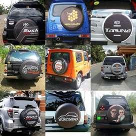 Tutup Ban/Cover Ban jeep Rubicon-Escudo Dll sarung terios rush kinyis2