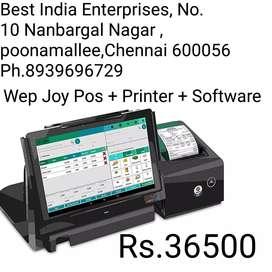All New Wep Joy POS Billing Machine with 1yr Warranty