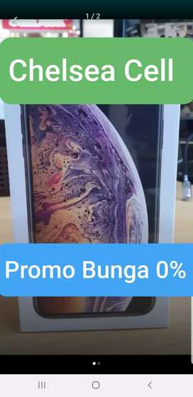 Promo murah iphone XS Max 256/512 kredit bunga 0% bs TT